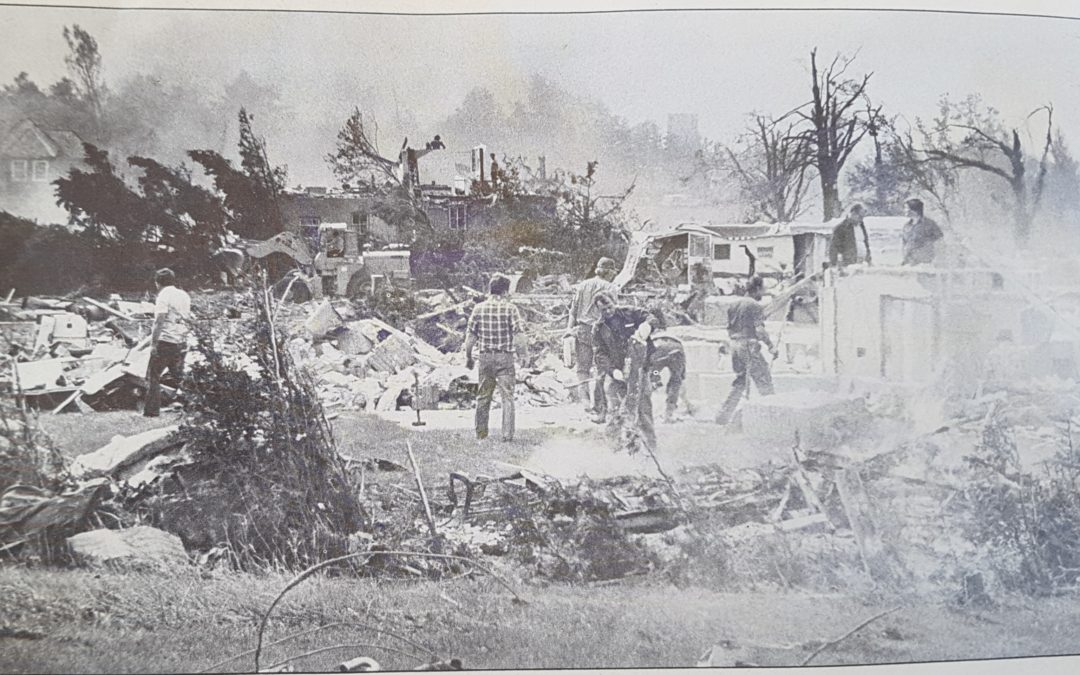 Woodstock, Ontario Tornado – August 7, 1979